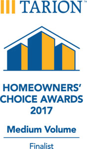 Neilcorp Homes named a finalist in the 2017 Homeowners' Choice Awards